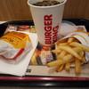 バーガーキング - 料理写真:キングバリューセット