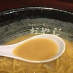 ラーメンおやじ - 濃厚な白味噌スープ