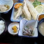 1123587 - 穴子天ぷら(?)定食