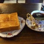 Kohiyafukino - シナモントーストとモカです
