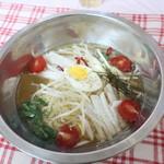 市場のめしや まんまる食堂 - 冷麺 2019.7月