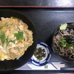 安威庵 - 料理写真:親子丼セット(750円)