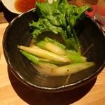 函館海鮮料理 海寿 - アスパラ炭火バター焼き