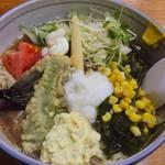 めしや天狗 - 料理写真:サラダラーメン(夏季のみ)
