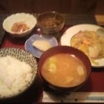 ちゃんこやぐら太鼓 - 日替わりランチ(八宝菜)