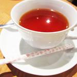 トラットリア・ピアノ - ホット紅茶。'12 1月