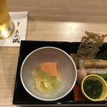 112310734 - お通し^^ トマトのお豆腐に感動!