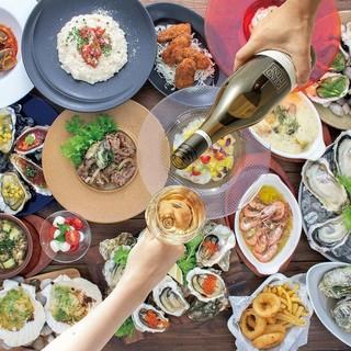 【ご予約限定】オイスターバーの牡蠣宴コース登場