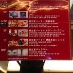 資生堂パーラー サロン・ド・カフェ - 東京銀座資生堂ビルのエレベーター案内