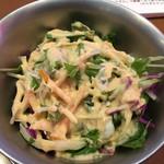 カナック - ランチのサラダ