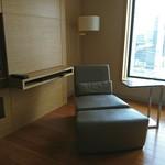 インターコンチネンタルホテル大阪 - 一人用のソファ、家に欲しい、IKEAのんしか家にはない笑