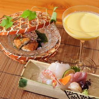 """祇園の割烹では珍しい""""ジビエ料理""""を上品に、コースとして。"""