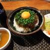 おとなのヒッコリー - 料理写真:◆ジャーマンハンバーグ丼◆白米大盛り無料1230円♪
