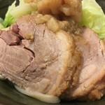 112324516 - ★限定F 背脂つけ麺 (麺量普通・ニンニク・アブラ・950円)★