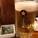 たつや - 生ビール(大)2019.7.18