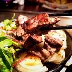 京ちゃばな - 美味しく焼けたステーキ