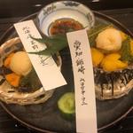 蓬左茶寮 - 食べ比べ~師崎・苫前 海ぶどう