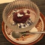 蓬左茶寮 - 甘味