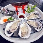 112332677 - 濃厚でミルキーな味わい(//∇//)やっぱり広島に来たら牡蠣ですねぇ❗️