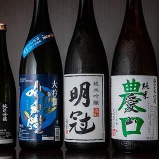 【日本酒は約16種類】迷った時はスタッフにおまかせください