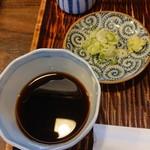 112339406 - そばつゆ&薬味