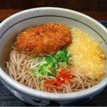 元気ダイニングヒライ東町店 - コロッケそば(2012.01.18追加)