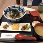 サバープラス - ひつまぶし丼定食 1000円(税込)