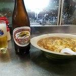 丸玉食堂 - ビールとローメン