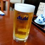鮨処 はせ川 - ドリンク写真:ビール 570円