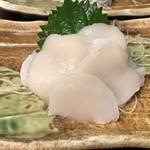 松ちゃん - ホタテ刺身