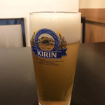 浅野屋 - 生ビール  暑い日にはたまらんね♬