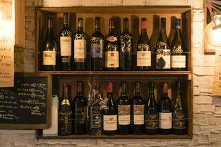 Alvino - ワインは常時60種類以上!好みのワインをご提案します♪