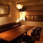 ガイーナ - プライベート空間満載の個室! 接待から女子会まで幅広くご利用いただけます。