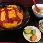えびす菜館 - 料理写真:オムチャーハン