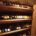 ガイーナ - ガイーナのウォークインセラー! ¥2800ワインが70種類以上!!