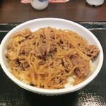 なか卯 - NEW!!2012.01 和風牛丼大盛り350円