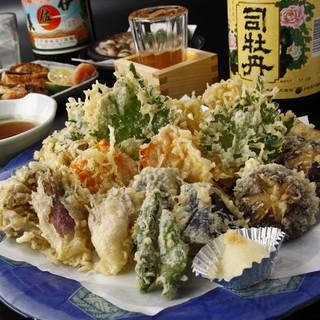 揚げたて☆野菜天ぷら880円