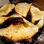 立呑み 魚椿 - エイヒレ炙り