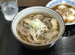 葵 - 肉そばセット ¥800