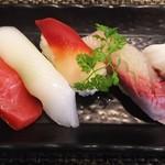 玄海鮨 - 竹にぎり 左サイド
