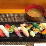 玄海鮨 - 貝汁も揃って コンプリート
