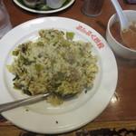 ぶんぶく茶釜 - 高菜チャーハン