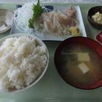 魚いち亭 - 朝いか定食