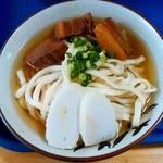112366381 - きしもと食堂@本部 そば 大(700円)