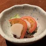 十方夷第 - 帆立貝フルーツトマトの三杯酢