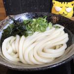 こがね製麺所 - ひやかけ小230円(小)
