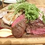 ブラッスリー ムー - お肉のグリル三種盛り