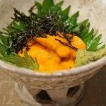 燕 - 料理写真:北海道根室産の雲丹