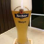 ローマイヤレストラン - スペシャルランチセットのビール