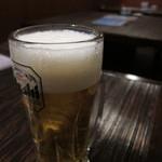 Ohana房 - 生ビール♪